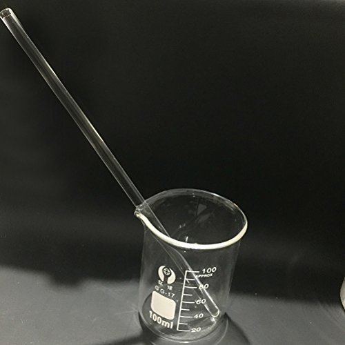 UKCOCO 10Pcs Glass Stirring Rod High Temperature Resistant Glass Stir Stick for Stir Hot Cold Beverages Cocktails Drinks Mixtures by UKCOCO (Image #4)