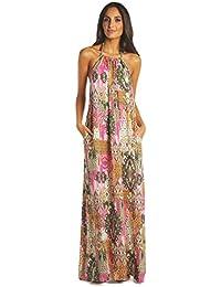 Womens Maxi Goddess Flowy Dress