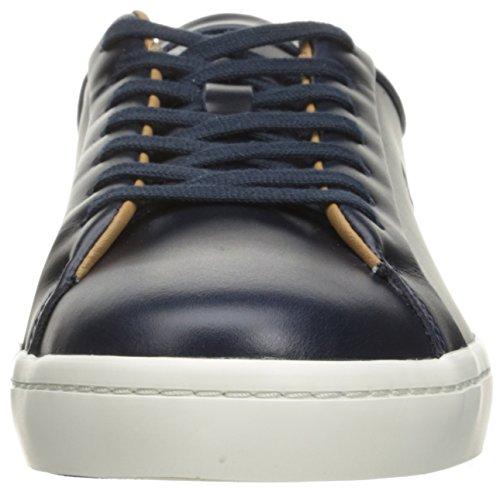 Lacoste Mens Straightset 316 3 Cam Fashion Sneaker Blu Scuro