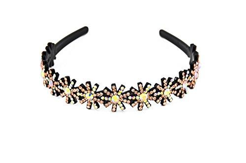 Yeshan Rhinestone Headband Hairband Champagne