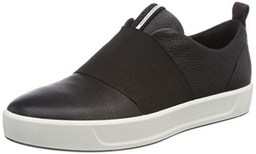 Ecco Soft 8, Sneakers Basses Femme Noir (Black)