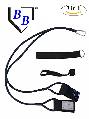 BB Bands Sports Exercise Baseball/Softball Training Aid Pitching Arm Strength Quarterback Warmup Stretching Resistance Bands j by BB Bands