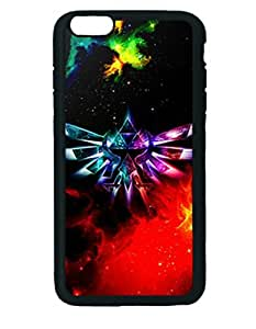 The Legend of Zelda TriForce Galaxy Nebula Custom Diy Unique Image Durable Rubber Silicone Case Iphone 6 Plus - 5.5 inches