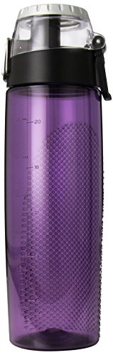 Thermos 24 Ounce Tritan Hydration Bottle with Meter, Purple (Hydration Ounce Bottle 24)