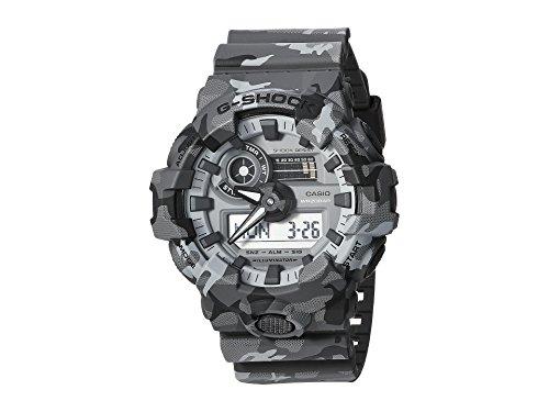 Casio G-Shock  Men's GA700CM-8A Gray/Camo One Size (Best Branded Watches Under 10000)