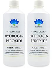 Peróxido de hidrógeno–de grado de alimentos más puro grado 3%–1litro–unstabilized y aditivo libre–10vols