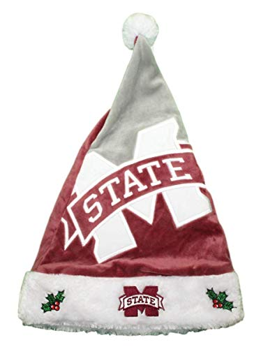 - Forever Collectibles NCAA Mississippi State Bulldogs Santa HatBasic, Team Colors, One Size