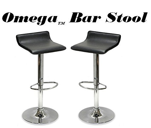 Modern Barstool (Set of 2) in Black Finish by Coaster Furniture by Coaster Home Furnishings