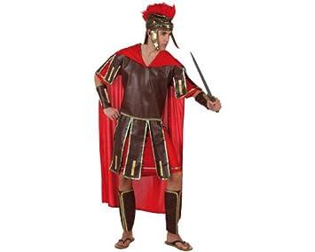 Atosa - 96780 - Costume - Déguisement De Guerrier Romain Rouge Adulte -  Taille 2 ecc54635257
