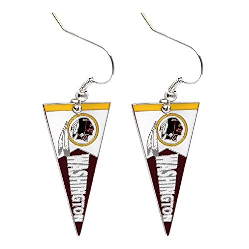 NFL Washington Redskins Pennant Earrings ()