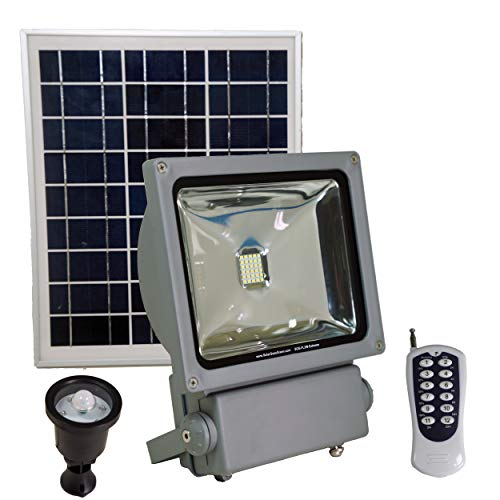 Solar Goes Green 3W Extreme Series Commercial Grade Solar Powered Flood Light with Remote Control and Motion Sensor
