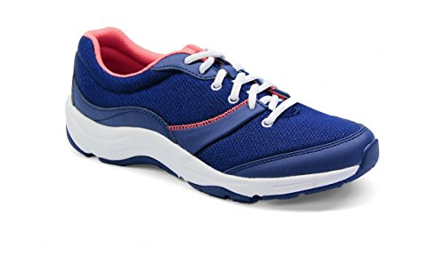 Vionic Kona Womens Orthotic Athletic Shoe Navy/Coral - 8.5 Medium