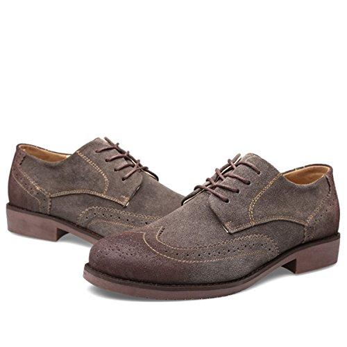 Caqui Hombre Gris Cordones Zapatos Minitoo De Color De UUFwOY
