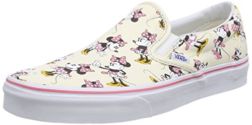 Vans U Classic Slip-On Disney - Zapatillas bajas unisex multicolor - Mehrfarbig ((Disney) Minnie Mouse/classic white)