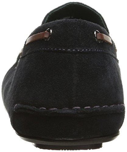 Ted Baker Mens Muddi 3 Slip-On Loafer Dark Blue Suede iOmunL1M4