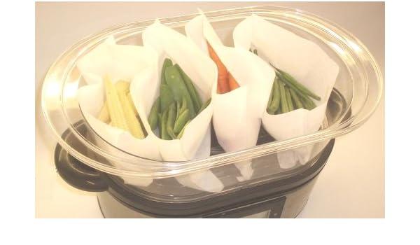 Polvo de vapor; La Clean y Clever separar a los alimentos y ollas ...