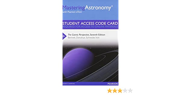 Masteringastronomy with pearson etext standalone access card masteringastronomy with pearson etext standalone access card for the cosmic perspective 7th edition jeffrey o bennett megan o donahue fandeluxe Choice Image