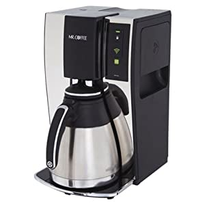 Mr. Coffee Smart Wifi-Enabled WeMo 10-Cup Optimal Brew Coffeemaker, BVMC-PSTX91WE – the schedule works like it should and the reminders are a nice feature