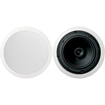 Jamo 8 5cs 5 Round In Ceiling Surround Sound Home Theater Speakers Pair