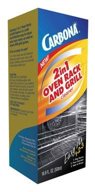 Carbona 2-In-1 Oven Rack And Grill Cleaner Bagged 16.9 Oz by Carbona