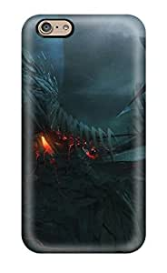 Fashionable Style Case Cover Skin For Iphone 6- City Sci Fi People Sci Fi