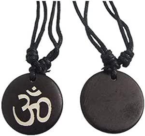 Yoga Symbol Necklace - Bones