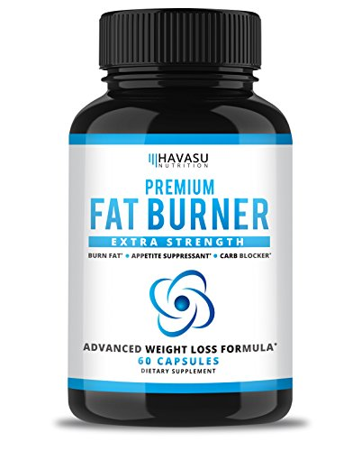 Extra Strength Weight Loss Pills and Keto Appetite Suppressant - CLA, Green Tea Extract, Apple Cider Vinegar, Coral Calcium, White Kidney Beans - Fat Burner & Metabolism Boost ()