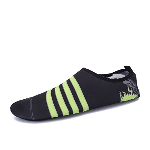 buceo libre negro S Lucdespo suave 168 al deportes de natación Zapatos y funcional transpirable elástica zapatos multi playa CLASSIC aire Ywx8CSY