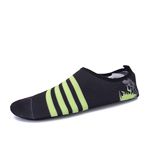buceo funcional deportes y natación Lucdespo zapatos transpirable S negro suave libre playa al elástica multi aire Zapatos CLASSIC 168 de wACqx8v