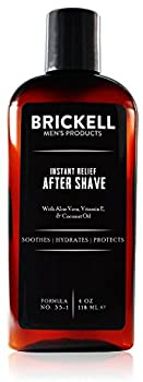 Brickell Men s Instant Relief Aftershave for Men   4 oz   Natural & Organic