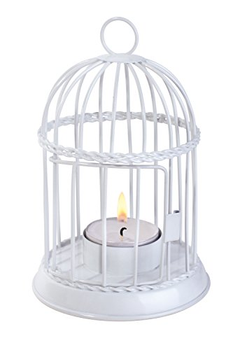 irdhouse Style LED Tea Light Holder - Table Top Standing or Hanging - For Standard Size Flameless Electric LED Tealights or Votive LED Candles. Colors Vary. (Style Votive Candle Lantern)