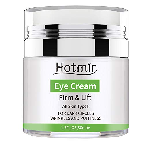 Treatment Wrinkle Cream - Hotmir Eye Cream for Dark Circles and Puffiness, | Under Eye Cream Treatment, Wrinkles and Fine Lines, | Anti-aging Bags - 1.7 fl oz