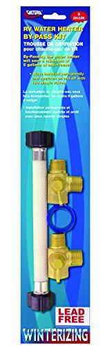[Valterra P23503LFVP Water Heater By-Pass Kit] (Permanent Bypass Kit)