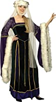 Forum Novelties Women's Medieval Lady Adult, Small 2-6