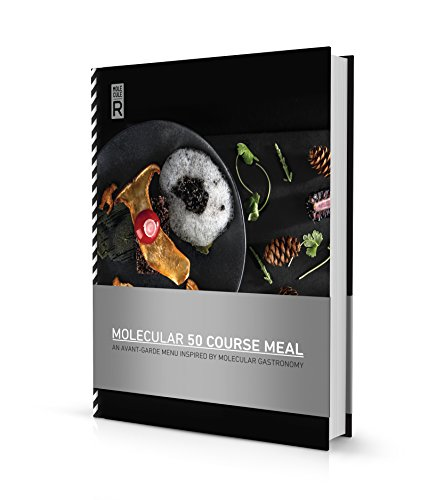 Molecule-R Molecular 50 Course Meals, Black and White