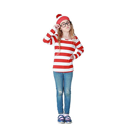 Halloween Cosplay Costumes,GMIOWEU Shirt Costume, Adult Funny Sweatshirt, Hoodie Outfit Glasses Hat Shirt Suits ()