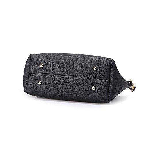 Lychee Texture Sacs à Main Version Coréenne Du Sac À Main Messenger Bag Grande Capacité Pull Bracelet