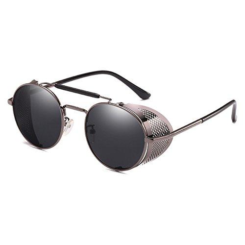 Goggle Cadre Hommes de Métal Gothique Vintage Dames Lunettes Steampunk Soleil C6 MEIHAOWEI ztqY1w6x6