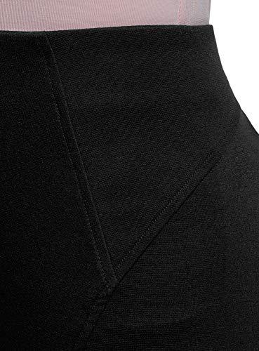 Noir Jupe 2900n oodji Ultra Maille en Femme Crayon Y4BqaE
