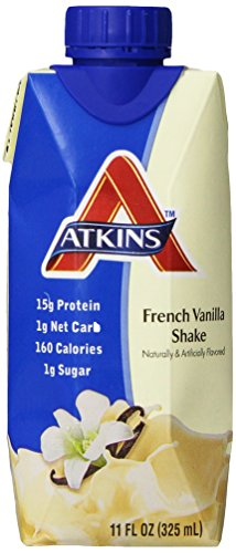 Atkins Advantage Shake, Creamy Vanilla, 4 ct, 11 oz -