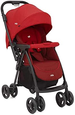 Joie Mirus Reversible Handle Stroller Birth to 17.5kg, Lychee
