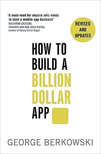 amazon how to build a billion dollar app george berkowski ethics