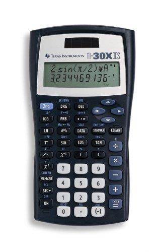Texas Instruments TI-30X IIS 2-Line Scientific Calculator, Black Color: Black by Portable & Gadgets