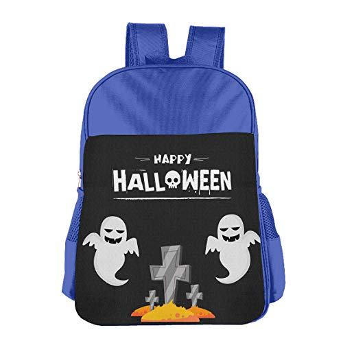 Happy Halloween Cartoon Ghost Tomb Children School Backpack Carry Bag For Youth Boys Girl