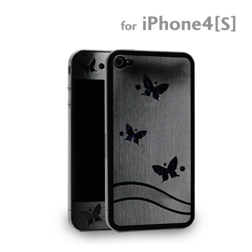 Assy co, Ltd icover Optical Protecting Sticker for iPhone 4S/4 (Butterfly)