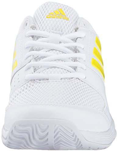 Adidas Originals Vrouwen Barricade Court Tennis Schoenen Wit / Citroenschil / Wit
