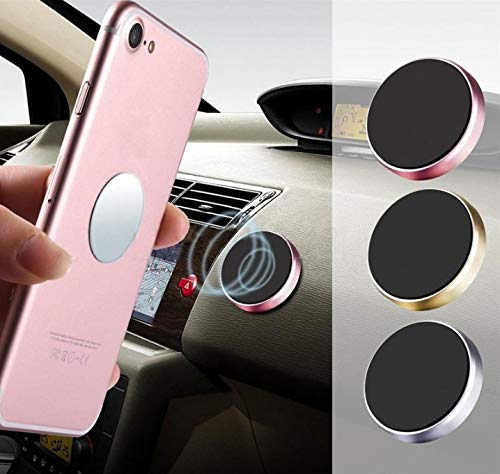 TRUE LINE Automotive Car Magnet Cell Phone Dashboard Steering Wheel Mounted Holder Mounting Kit ()