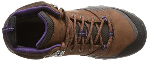 Pictures of KEEN Women's Terradora Leather mid wp- Brown 2