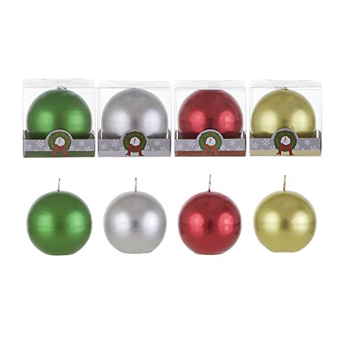 ball candles 3 inch - 1