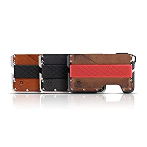 Dango Dapper EDC Wallet – Made in USA – Genuine Leather, CNC Alum, RFID Blocking